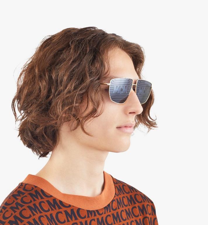 MCM Men's 151S Hologram Aviator Sunglasses  MEGAAMM11DG001 Alternate View 4