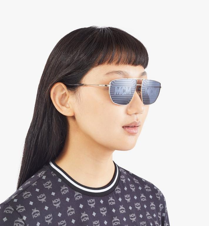 MCM Men's 151S Hologram Aviator Sunglasses  MEGAAMM11DG001 Alternate View 6