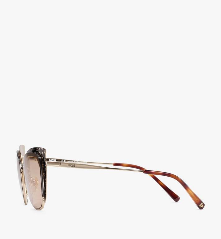 MCM 144S Cat Eye Sunglasses Gold MEGASMM04DG001 Alternate View 2