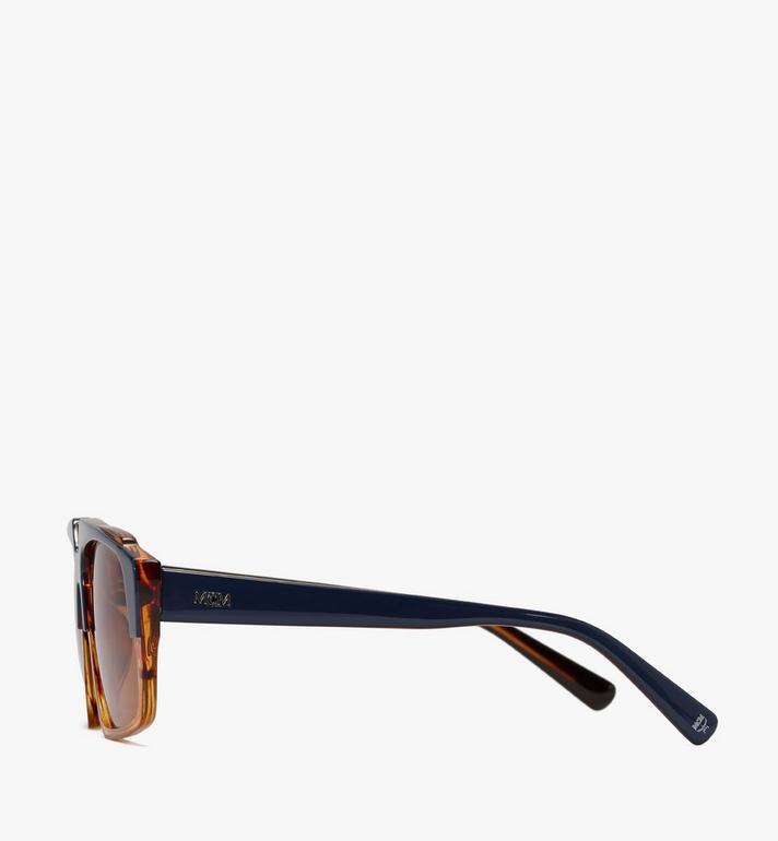 MCM 693S Square Sunglasses Orange MEGASMM07OR001 Alternate View 2