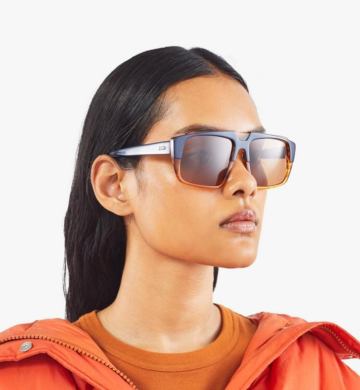MCM 693S Square Sunglasses Orange MEGASMM07OR001 Alternate View 5