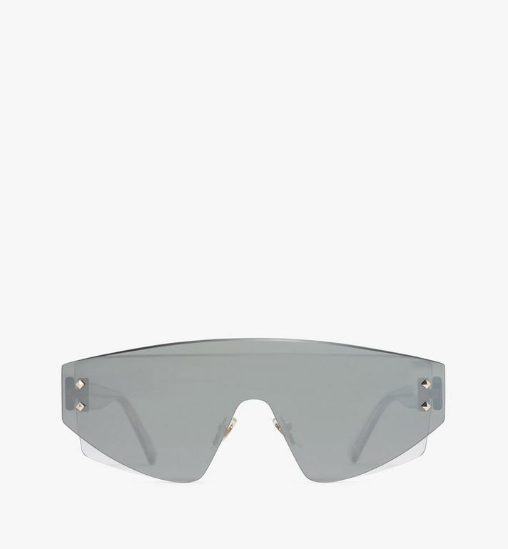 MCM 694S Shield Sunglasses Grey MEGASMM08EG001 Alternate View 1