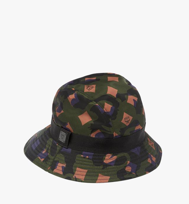 Bucket Hat in Camo Nylon