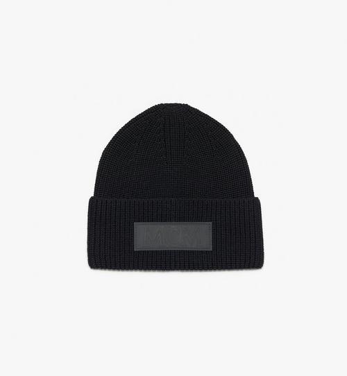 MCM 標誌補丁羊毛帽