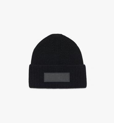 徽标贴花羊毛便帽