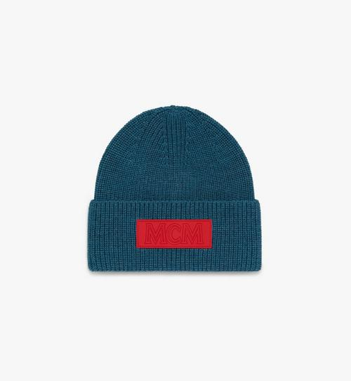 標誌補丁羊毛帽