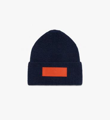 Logo Patch Wool Beanie