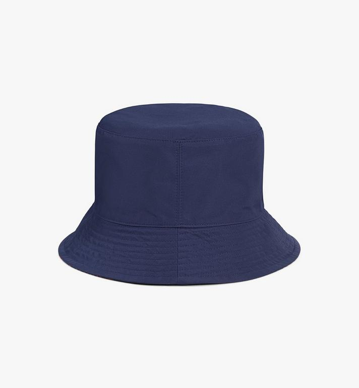 MCM Reversible Monogram Bucket Hat Blue MEHAAMM03VV001 Alternate View 4