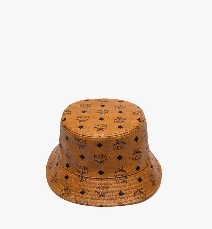 MCM หมวกบัคเก็ตลาย Visetos Alternate View