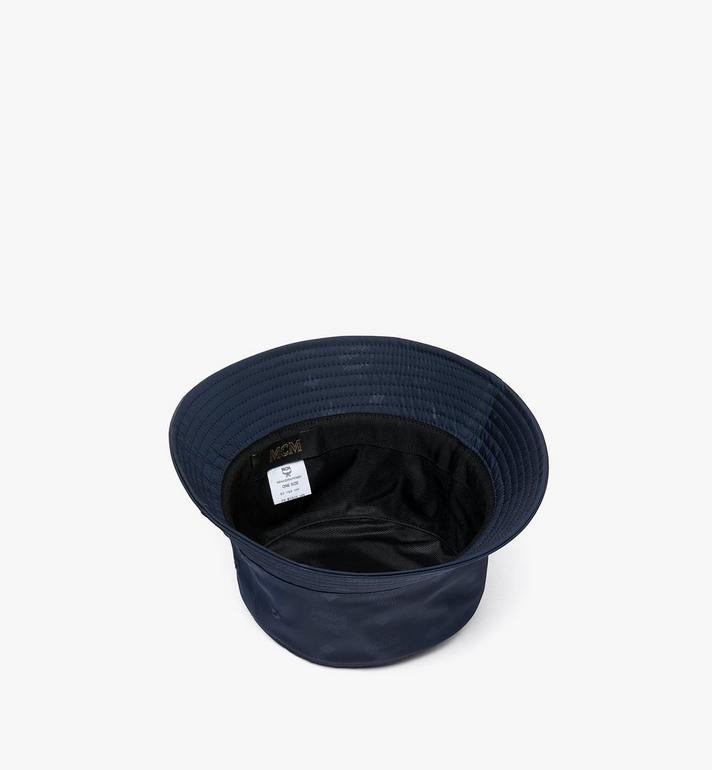 MCM 花押字圖案尼龍系列的漁夫帽 Navy MEHASMM07VY001 Alternate View 2