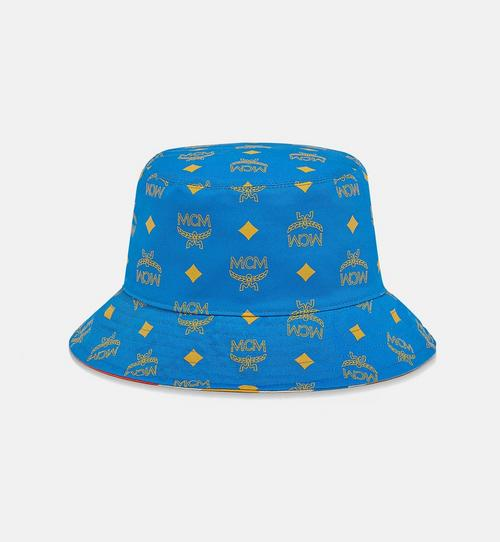 Reversible Bucket Hat in Geo Graffiti Cotton