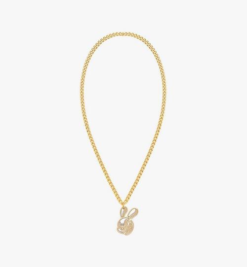 MCM x SAMBYPEN Halskette mit Hasenanhänger
