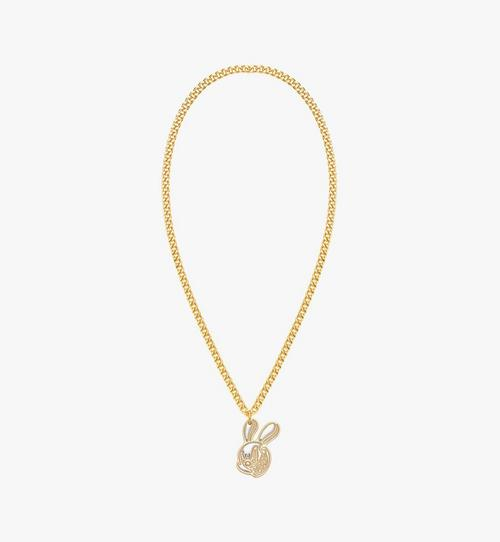 MCM x SAMBYPEN Rabbit Pendant Necklace