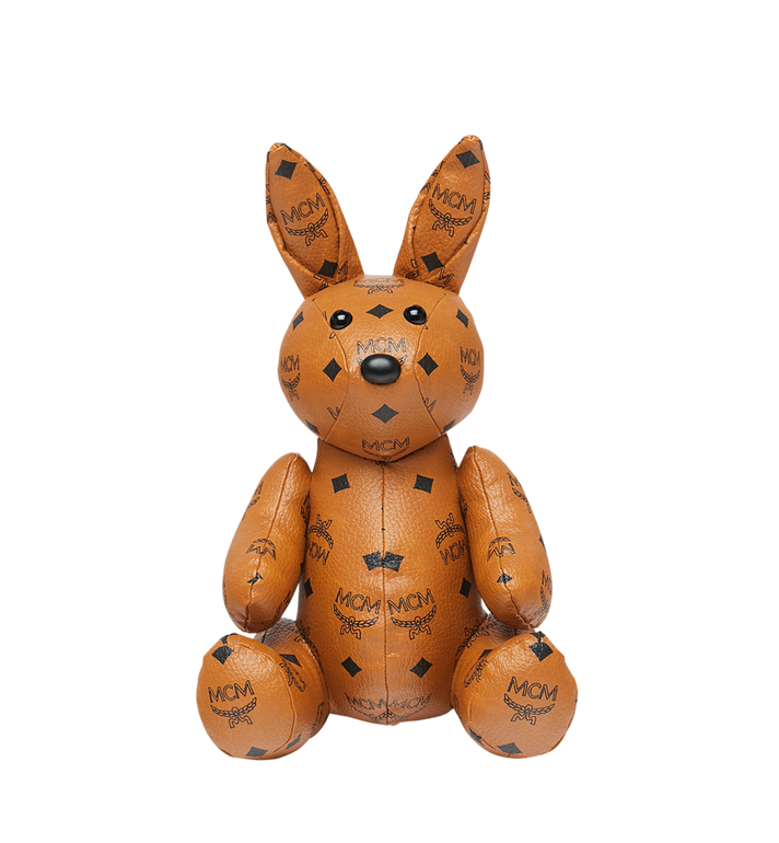 MCM Rabbit Doll in Visetos Cognac MEL8SVD23CO001 Alternate View 4