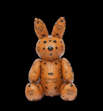 MCM Rabbit Doll in Visetos Alternate View 4