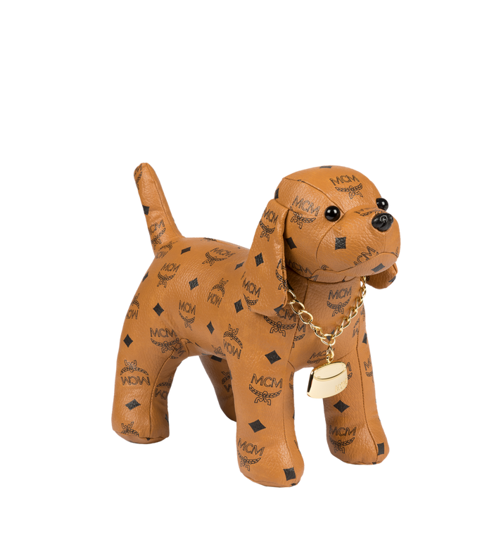 MCM Beagle Doll in Visetos Cognac MEL8SVD77CO001 Alternate View 1