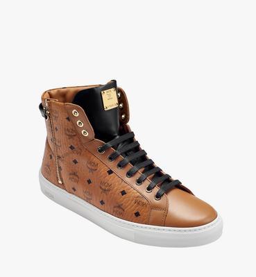 Women's High Top Turnlock Sneakers in Visetos