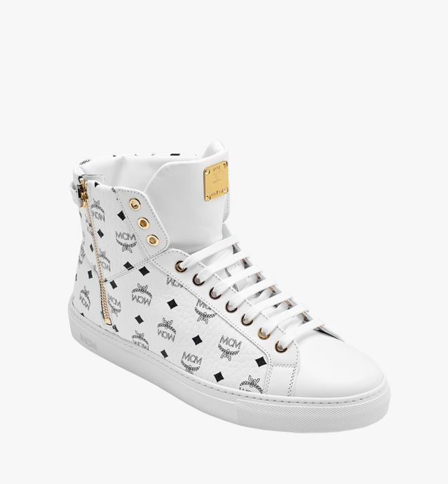 Women's High Top Classic Zip Sneakers in Visetos