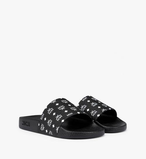 รองเท้าแตะผู้หญิงทำจากยางพิมพ์ลายโมโนแกรม