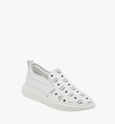 Women's Slip On Diamond Sole Sneakers in Visetos