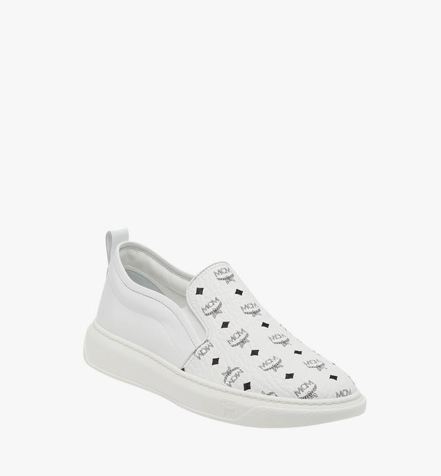 Women's Slip On Diamond Sole Sneakers in Visetos