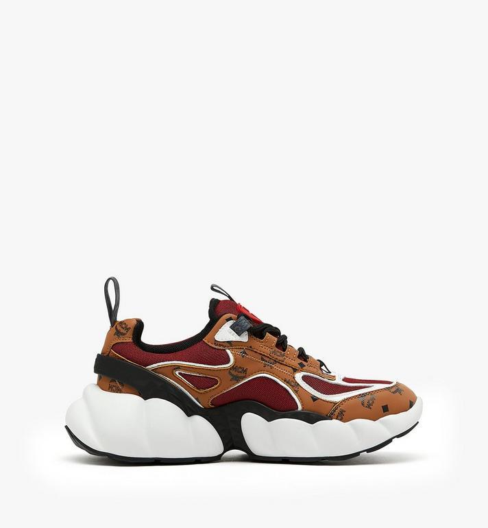 MCM รองเท้ากีฬาผู้หญิง Himmel สไตล์ Low-Top Cognac MES9ANX06CO037 Alternate View 2