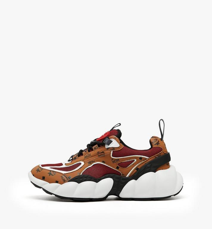 MCM รองเท้ากีฬาผู้หญิง Himmel สไตล์ Low-Top Cognac MES9ANX06CO037 Alternate View 3