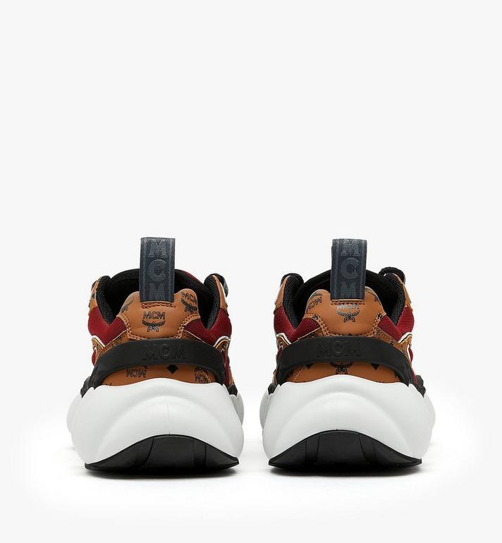 MCM รองเท้ากีฬาผู้หญิง Himmel สไตล์ Low-Top Cognac MES9ANX06CO037 Alternate View 4