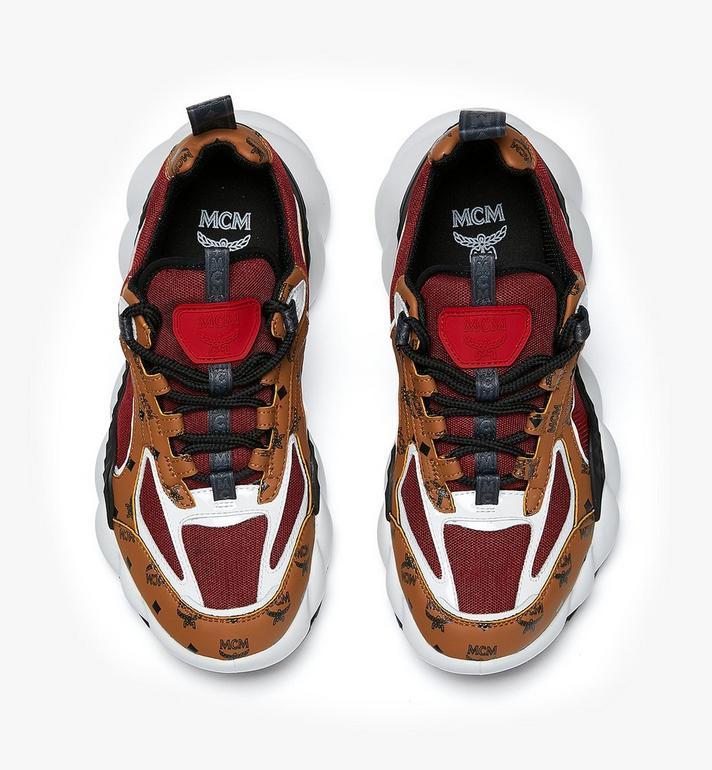MCM รองเท้ากีฬาผู้หญิง Himmel สไตล์ Low-Top Cognac MES9ANX06CO037 Alternate View 5