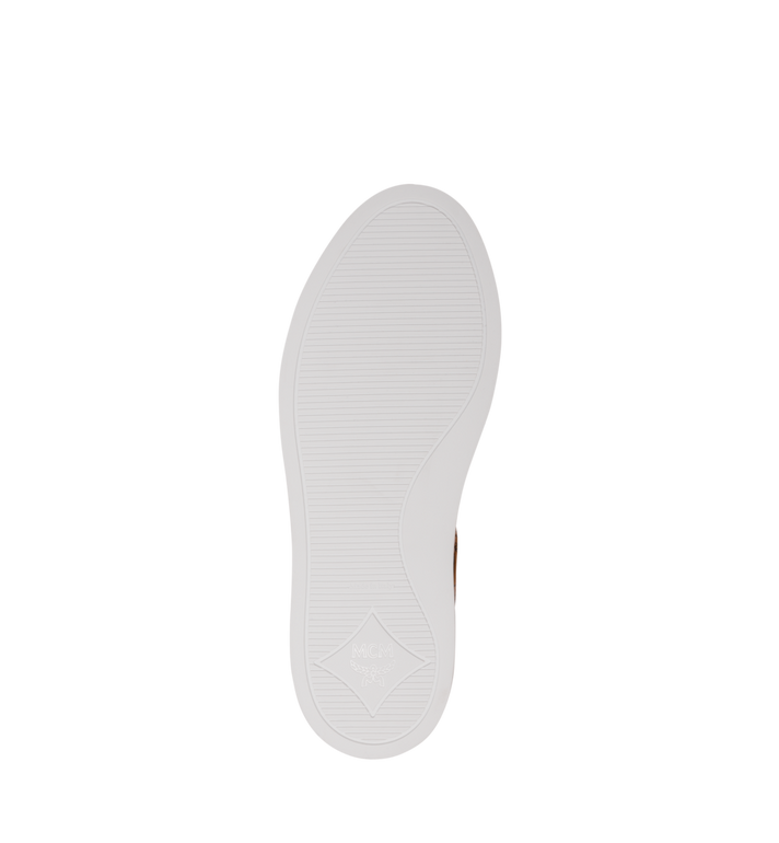 MCM Women's Classic Low Top Sneakers in Visetos Cognac MES9SMM03CO040 Alternate View 5