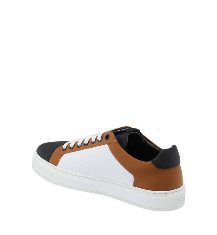 MCM Women's Low Top Sneakers in Leather Alternate View 3