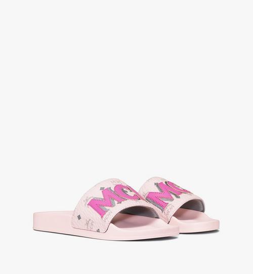 รองเท้าแตะ MCM โมโนแกรมสำหรับผู้หญิง