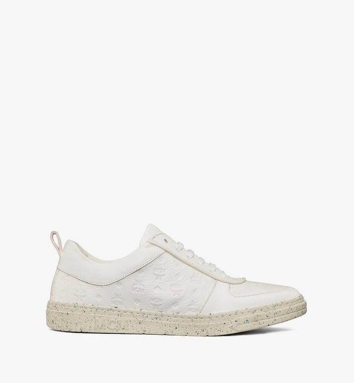 MCM Women's Sustainable Terrain Lo Sneakers White MESAAMM18WT036 Alternate View 4