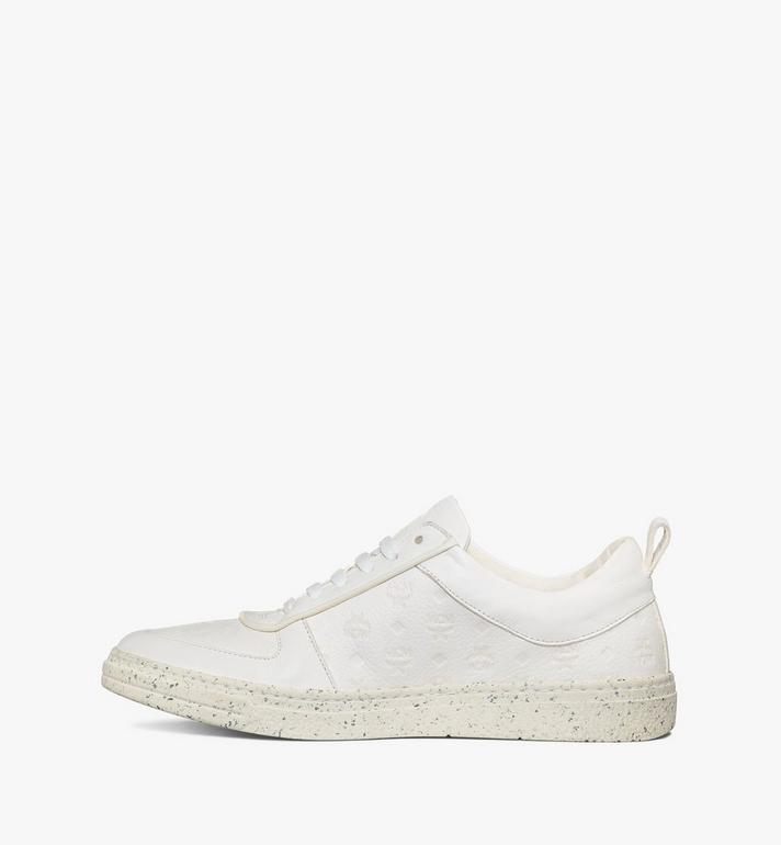 MCM Women's Sustainable Terrain Lo Sneakers White MESAAMM18WT037 Alternate View 2