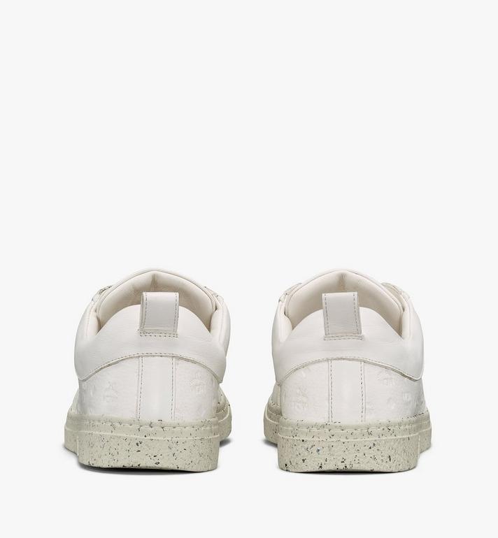 MCM 女士環保 Terrain 低筒運動鞋 White MESAAMM18WT039 Alternate View 3