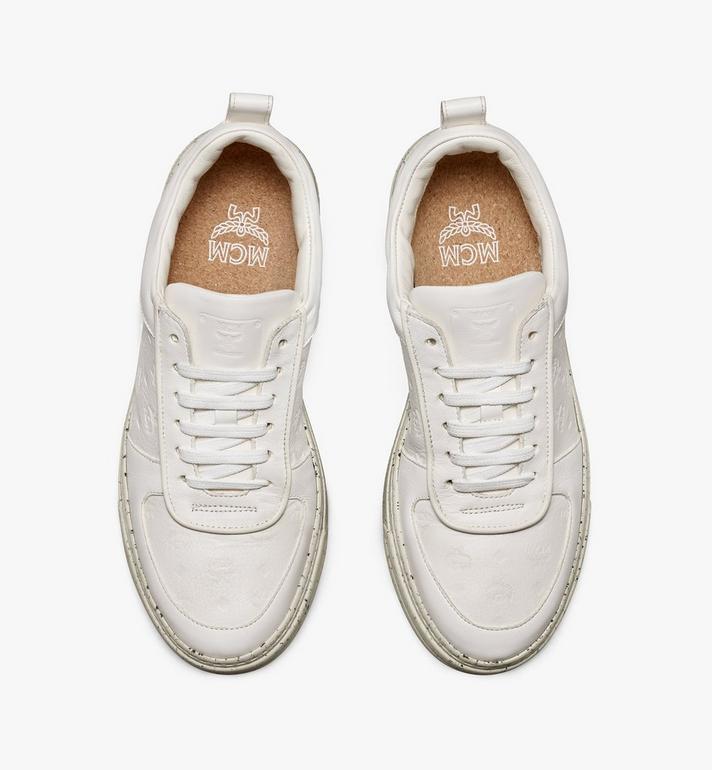 MCM 女士環保 Terrain 低筒運動鞋 White MESAAMM18WT039 Alternate View 5