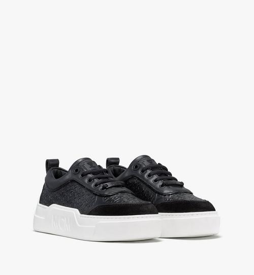 Women's Skyward Platform Sneakers in Monogram Leather