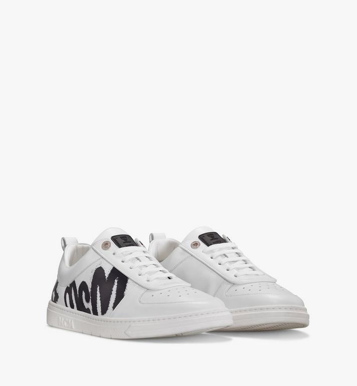 MCM Terrain Lo Sneaker mit grossem Logo für Damen Alternate View