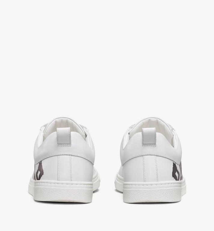 MCM Terrain Lo Sneaker mit grossem Logo für Damen Pink MESAAMM23WT039 Alternate View 3