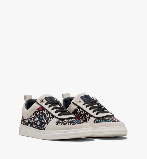 Women's Terrain Lo Sneakers in Diagonal Monogram Canvas