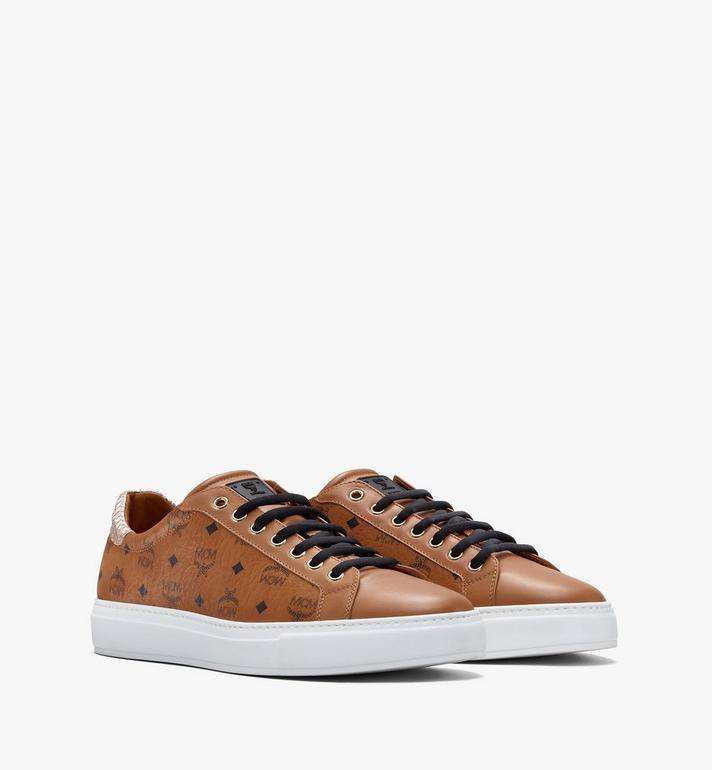 MCM Women's Low-Top Sneakers in Visetos Alternate View