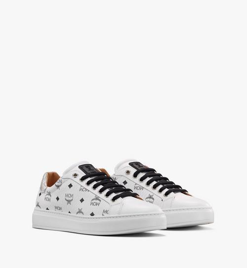 Low-Top-Sneaker in Visetos für Damen