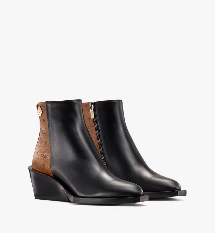 MCM Women's Ankle Boots in Visetos Alternate View
