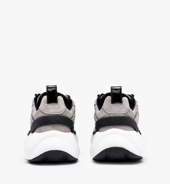 MCM Women's Himmel Low-Top Sneakers Grey MESASNX03FJ040 Alternate View 3