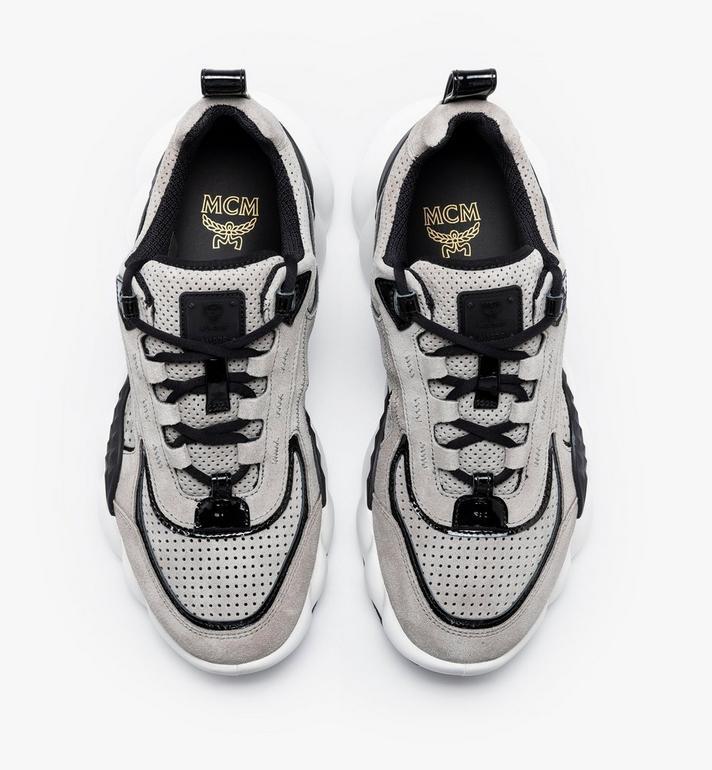 MCM Women's Himmel Low-Top Sneakers Grey MESASNX03FJ040 Alternate View 5