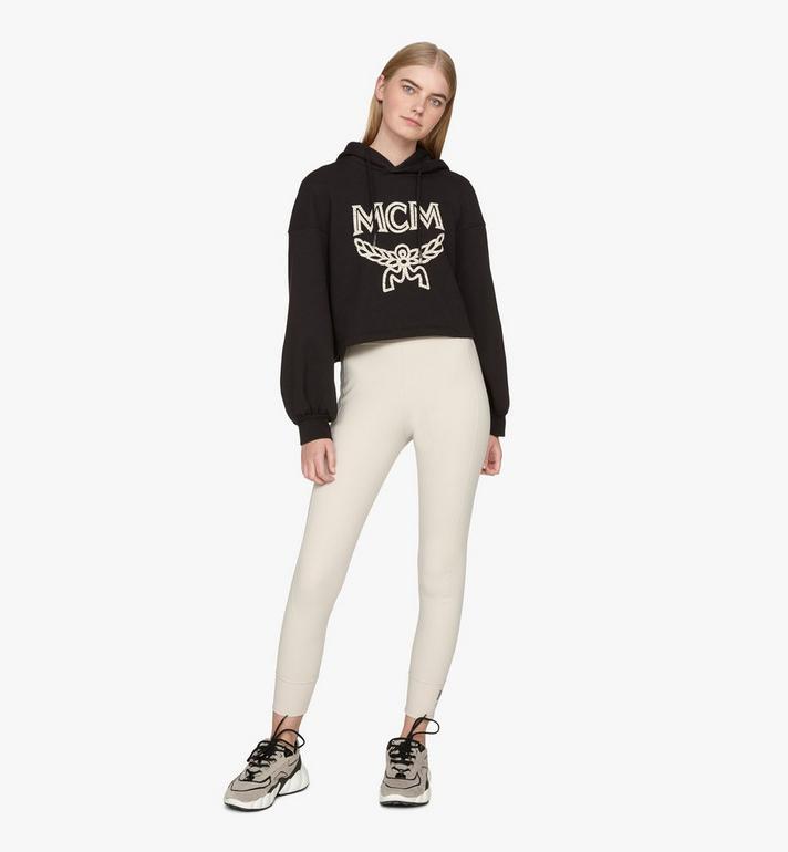 MCM Women's Himmel Low-Top Sneakers Grey MESASNX03FJ040 Alternate View 6