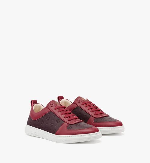 Nachhaltiger Terrain Low-Top-Sneaker aus Leder mit Monogramm für Damen