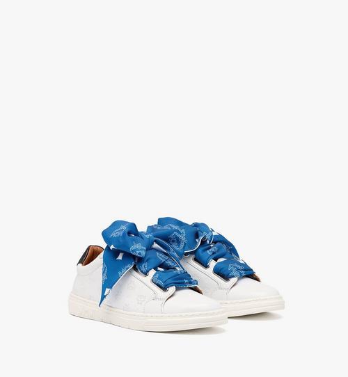 Women's Terrain Lo Sneakers in Monogram Calf Leather