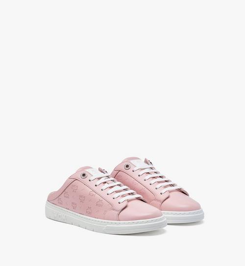 รองเท้าผ้าใบ Terrain Lo เปิดส้น วัสดุหนังลูกวัวลายโมโนแกรมสำหรับผู้หญิง