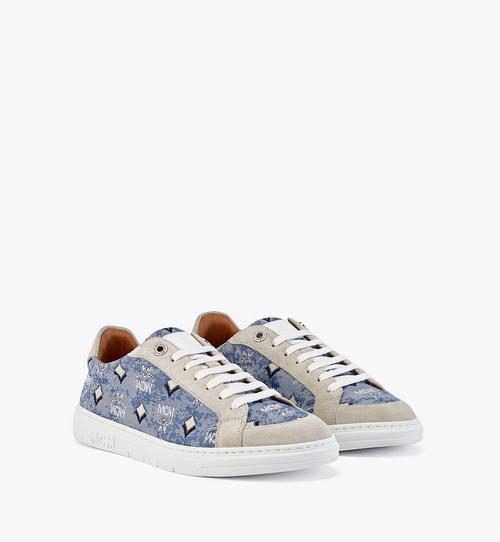 Niedrige Sneaker Terrain aus Vintage-Jacquard mit Monogramm für Damen